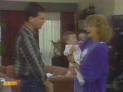 Des Clarke, Jamie Clarke, Madge Bishop in Neighbours Episode 0691