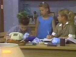 Todd Landers, Katie Landers, Emma Gordon in Neighbours Episode 0691