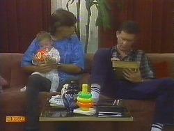 Jamie Clarke, Mike Young, Des Clarke in Neighbours Episode 0691