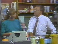 Sally Wells, Harold Bishop in Neighbours Episode 0691