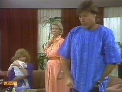 Jamie Clarke, Madge Bishop, Helen Daniels, Mike Young in Neighbours Episode 0691