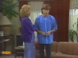 Madge Bishop, Mike Young in Neighbours Episode 0692