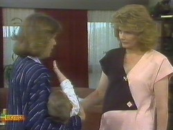 Beverly Marshall, Jamie Clarke, Madge Bishop in Neighbours Episode 0692