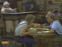 Madge Bishop, Henry Ramsay, Scott Robinson in Neighbours Episode 0693