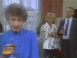 Nell Mangel, Jane Harris, Harold Bishop in Neighbours Episode 0693