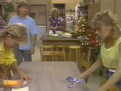 Scott Robinson, Henry Ramsay, Madge Bishop, Charlene Mitchell in Neighbours Episode 0693