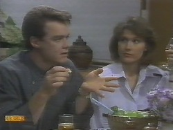 Paul Robinson, Beverly Robinson in Neighbours Episode 0694
