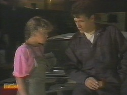 Charlene Robinson, Tony Romeo in Neighbours Episode 0694