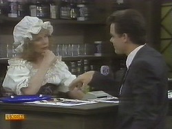 Madge Bishop, Paul Robinson in Neighbours Episode 0695