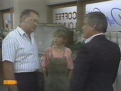 Harold Bishop, Charlene Robinson, Lou Carpenter in Neighbours Episode 0695