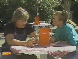 Henry Ramsay, Sally Wells in Neighbours Episode 0695