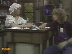 Madge Ramsay, Henry Ramsay in Neighbours Episode 0695