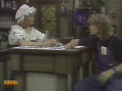 Madge Bishop, Henry Ramsay in Neighbours Episode 0695