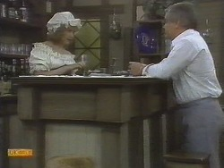 Madge Ramsay, Lou Carpenter in Neighbours Episode 0695