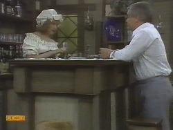 Madge Bishop, Lou Carpenter in Neighbours Episode 0695