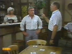 Madge Ramsay, Lou Carpenter, Harold Bishop in Neighbours Episode 0696