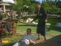 Lou Carpenter, Nell Mangel in Neighbours Episode 0696