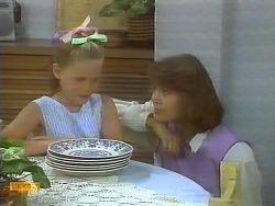Katie Landers, Beverly Robinson in Neighbours Episode 0696