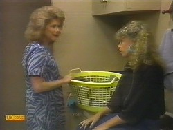 Madge Ramsay, Charlene Robinson in Neighbours Episode 0696