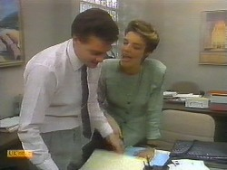 Paul Robinson, Gail Robinson in Neighbours Episode 0696