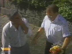Lou Carpenter, Harold Bishop in Neighbours Episode 0696