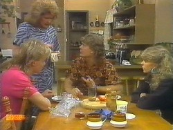 Scott Robinson, Madge Bishop, Henry Ramsay, Charlene Mitchell in Neighbours Episode 0697