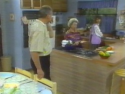 Jim Robinson, Helen Daniels, Beverly Marshall in Neighbours Episode 0697