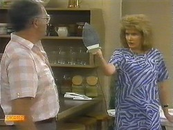 Harold Bishop, Madge Ramsay in Neighbours Episode 0697