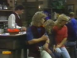 Ron, Henry Ramsay, Charlene Mitchell, Scott Robinson in Neighbours Episode 0697
