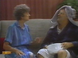 Nell Mangel, Harold Bishop in Neighbours Episode 0698