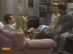 Tony Romeo, Jane Harris, Gail Robinson, Paul Robinson in Neighbours Episode 0698