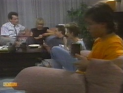 Paul Robinson, Jane Harris, Tony Romeo, Gail Robinson, Mike Young in Neighbours Episode 0698