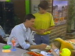 Des Clarke, Mike Young, Jamie Clarke in Neighbours Episode 0699