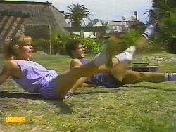 Sally Wells, Tony Romeo in Neighbours Episode 0699