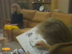 Charlene Mitchell, Scott Robinson in Neighbours Episode 0699