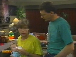 Mike Young, Des Clarke in Neighbours Episode 0699
