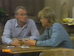 Jim Robinson, Scott Robinson in Neighbours Episode 0699