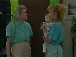 Helen Daniels, Jamie Clarke, Sally Wells in Neighbours Episode 0700