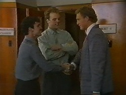 Ted Regan, Dave Summers, Solicitor in Neighbours Episode 0700