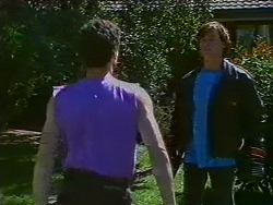 Ted Regan, Mike Young in Neighbours Episode 0703