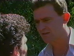Ted Regan, Des Clarke in Neighbours Episode 0703