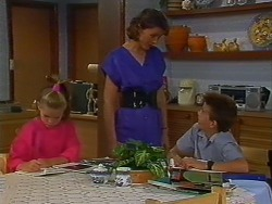 Katie Landers, Beverly Marshall, Todd Landers in Neighbours Episode 0703