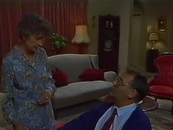 Nell Mangel, Harold Bishop in Neighbours Episode 0703