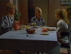 Scott Robinson, Helen Daniels, Charlene Mitchell in Neighbours Episode 0703