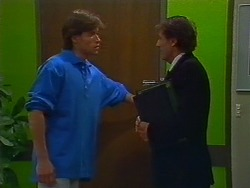 Mike Young, Arthur Bright in Neighbours Episode 0703