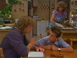 Henry Ramsay, Todd Landers, Madge Bishop in Neighbours Episode 0704