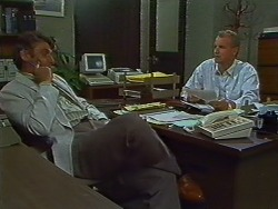 Ross Warner, Jim Robinson in Neighbours Episode 0704