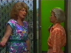 Madge Bishop, Helen Daniels in Neighbours Episode 0704