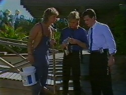 Henry Ramsay, Scott Robinson, Paul Robinson in Neighbours Episode 0705
