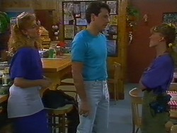 Sally Wells, Tony Romeo, Charlene Robinson in Neighbours Episode 0705